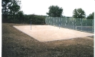Badminton & Tennis Courts before the turf was laid
